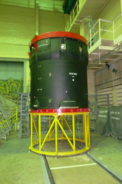 Breeze Upper Stage for SERVIS-2