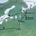 Location of Plesetsk