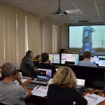 Launch team in the Plesetsk Cosmodrome Mission Control Center (credits: Eurockot)