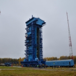 Launch pad 14П25 inside the Plesetsk complex 133 (Credits: Eurockot)