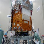 Sentinel-2A attached to the launch vehicle adapter