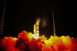 Sentinel-3A liftoff Copyright: ESA Stephane Corvaja, 2016