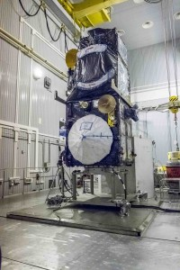 Sentinel-3A satellite in a stand-by mode