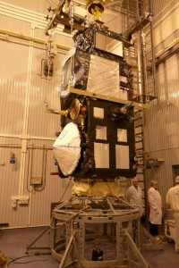 Sentinel-3A maiting with the adapter system