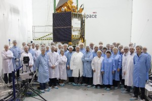 The Sentinel-5p/Rockot fit-check and release test team