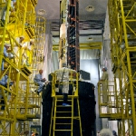 GOCE on BREEZE upper stage