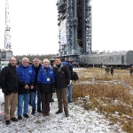 Joint launch team for SMOS/PROBA-2