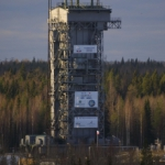 Rockot service tower
