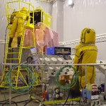 Fuelling of SERVIS-1 spacecraft