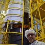 Sentinel-5p on Rockot Encapsulation (Credits: Eurockot)