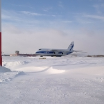 Sentinel-3B safely arrived in Archangelsk, Talagi airport (credits: Eurockot Launch Services)