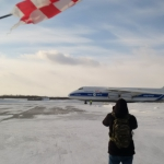 Sentinel-3B arrived at Talagi airport (credits: Eurockot Launch Services)