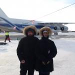 Sentinel-3B arrival, Eurockot team (credits: Eurockot Launch Services)