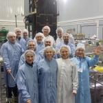 Team members from ESA, Khrunichev and Eurockot (credits: ESA)