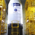 Sentinel-3B on Rockot: Eurockot team (Credits: Eurockot)
